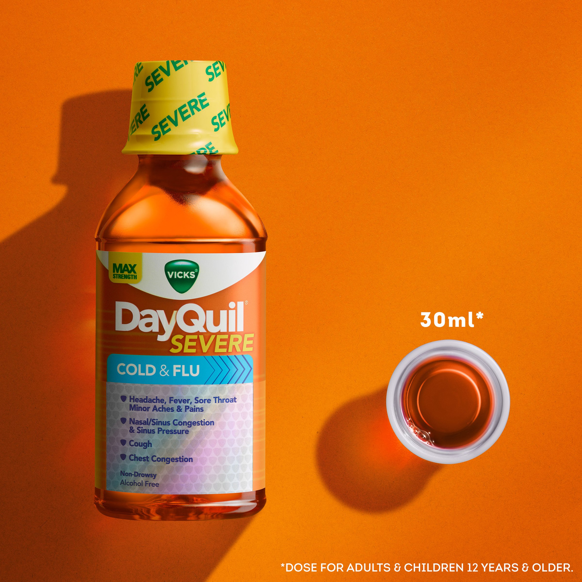Vicks DayQuil Severe Cold & Flu And NyQuil Severe Cold
