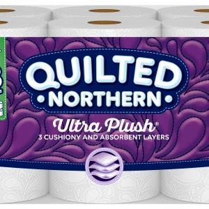 Quilted Northern Ultra Plush, 12 Mega Rolls, Toilet Paper