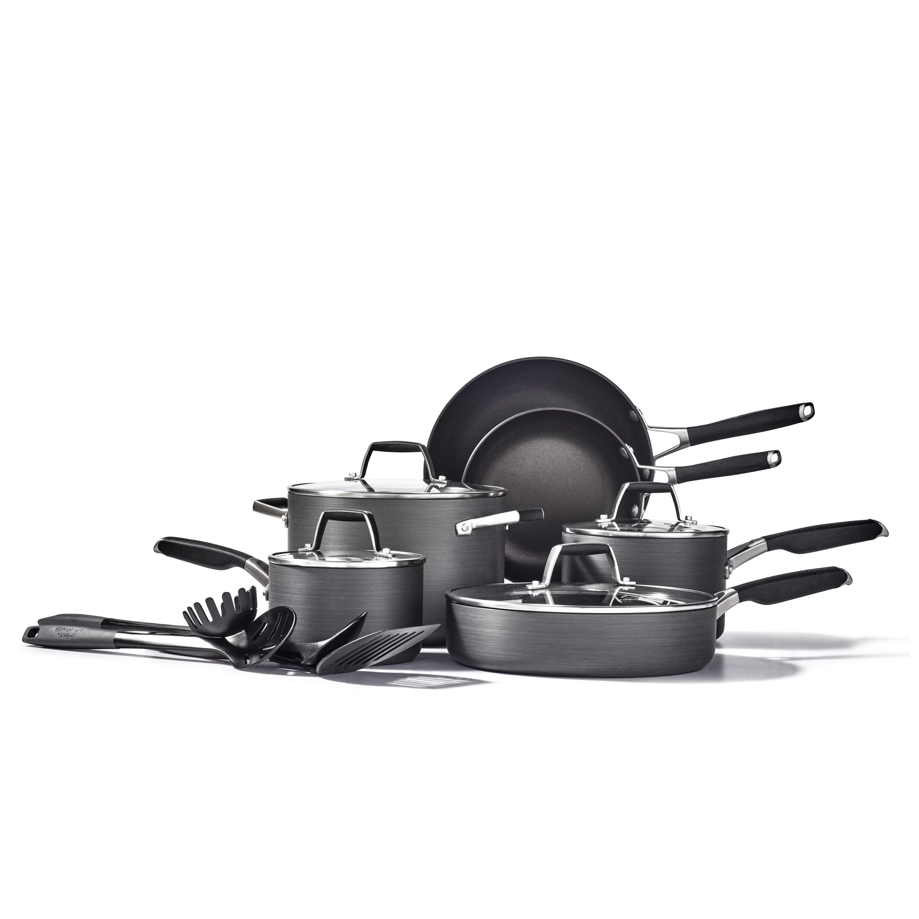 Select By Calphalon Nonstick 14 Piece Cookware Set Rocshop