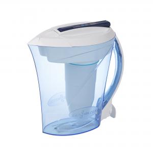 ZeroWater 10-Cup Ready-Pour Pitcher with Free Water Quality Meter ZD-010RP