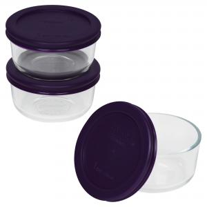 Pyrex Simply Store 6-piece Round Set