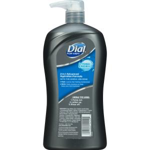 Dial for Men Hair + Body Wash with Advanced Hydration Moisturizer & Clean Rinse Technology, Hydro Fresh, 32 Ounce