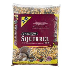 3-D Pet Products Premium Dry Squirrel Food, 10 lbs.