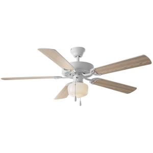 52″ Mainstays Ceiling Fan, Globe Light, White