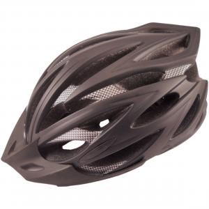 Zefal Adult Black Cycling Helmet with 24 Large Vents and Universal Adjustment