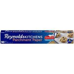 Reynolds Kitchens Parchment Paper (SmartGrid, Non-Stick, 90 Square Foot Roll)