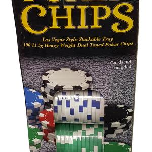 100-Piece Poker Chip Set