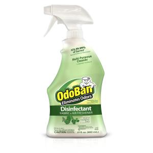 OdoBan Original Eucalyptus Scent Disinfectant Fabric & Air Freshener, 27 fl oz