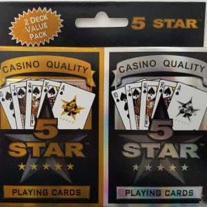 5 Star Poker 2-Pack