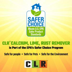 CLR Calcium Lime & Rust Remover, Biodegradable, 28 Oz Bottle