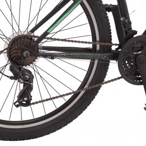 Genesis 24″ Assault Men's Bike, Green, For 4'6″ Height Sizes and Up