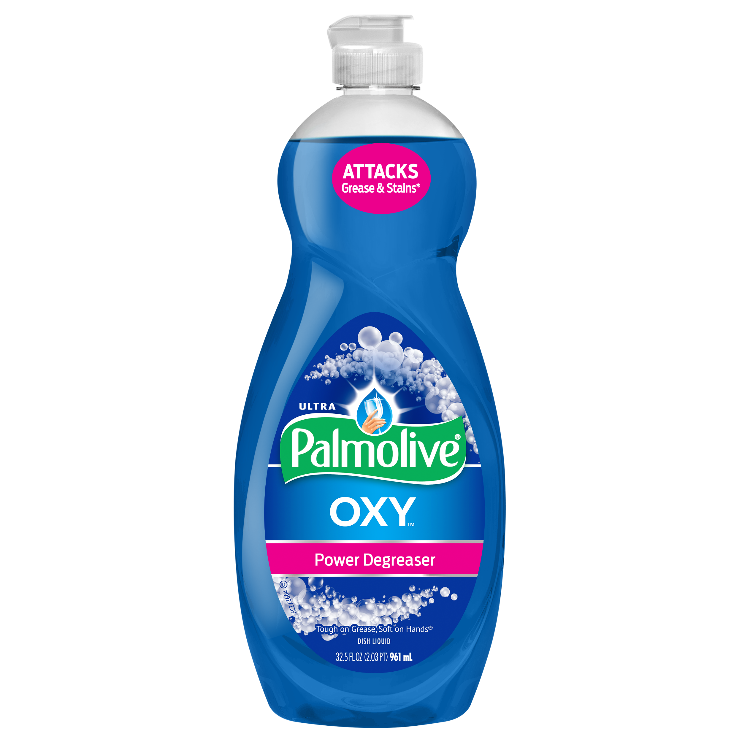 (1 Pack) Palmolive Ultra Dishwashing Liquid Dish Soap, Oxy Power Degreaser – 32.5 fl oz