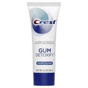 Crest Gum Detoxify Deep Clean Toothpaste, 4.1 oz (Pack of 2)