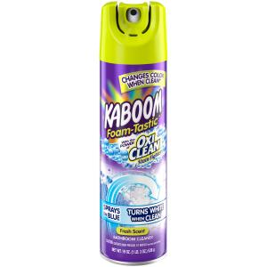 Kaboom Foam-Tastic with OxiClean Fresh Scent Bathroom Cleaner, 19 oz.