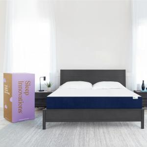 Sleep Innovations Marley California King 10 Inch Cooling Gel Memory Foam Mattress in a Box – Medium Firm – Pressure Relieving