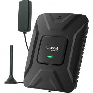 weBoost Drive X (475021) Vehicle Cell Phone Signal Booster | Car, Truck, Van, or SUV | USA Company | All U.S. Carriers – Verizon, AT&T, T-Mobile, Sprint & More | FCC Approved