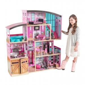 KidKraft Shimmer Mansion with 30 Accessories Included