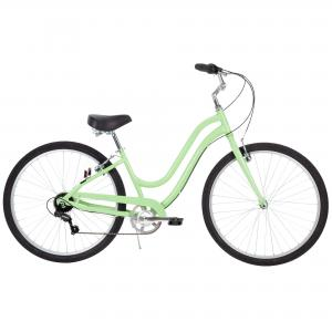 Huffy 27.5″ Parkside Women's Comfort Bike with Perfect Fit Frame, Mint