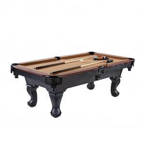 Barrington Billiard 90″ Belmont Pool Table, Accessories Included, Brown