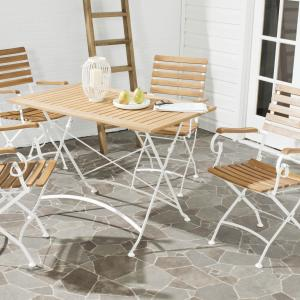 Safavieh Lawndale Outdoor Contemporary 5 Piece Dining Set
