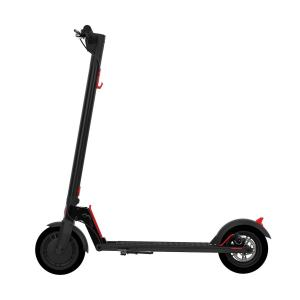 GOTRAX RIVAL Commuting Electric Scooter – 8.5″ Air Filled Tires – 15.5MPH & up to 12mile Range – Folding Frame