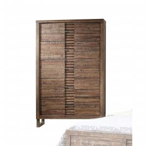 Acme Furniture Andria Reclaimed Oak Chest with Five Drawers
