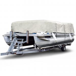 Budge Ripstop Pontoon Boat Cover, 100% Waterproof, Ultimate Outdoor Protection for Pontoons, Multiple Sizes