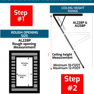 Louisville Ladder 10′ Aluminum Shelf Ladder, 13′ Reach, 300 lbs Load Capacity, AH1004