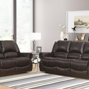 Devon and Claire Nate Reclining Loveseat