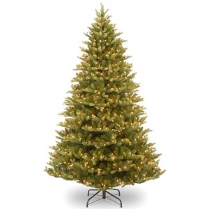 National Tree 7.5 ft Normandy Fir Tree with Clear Lights