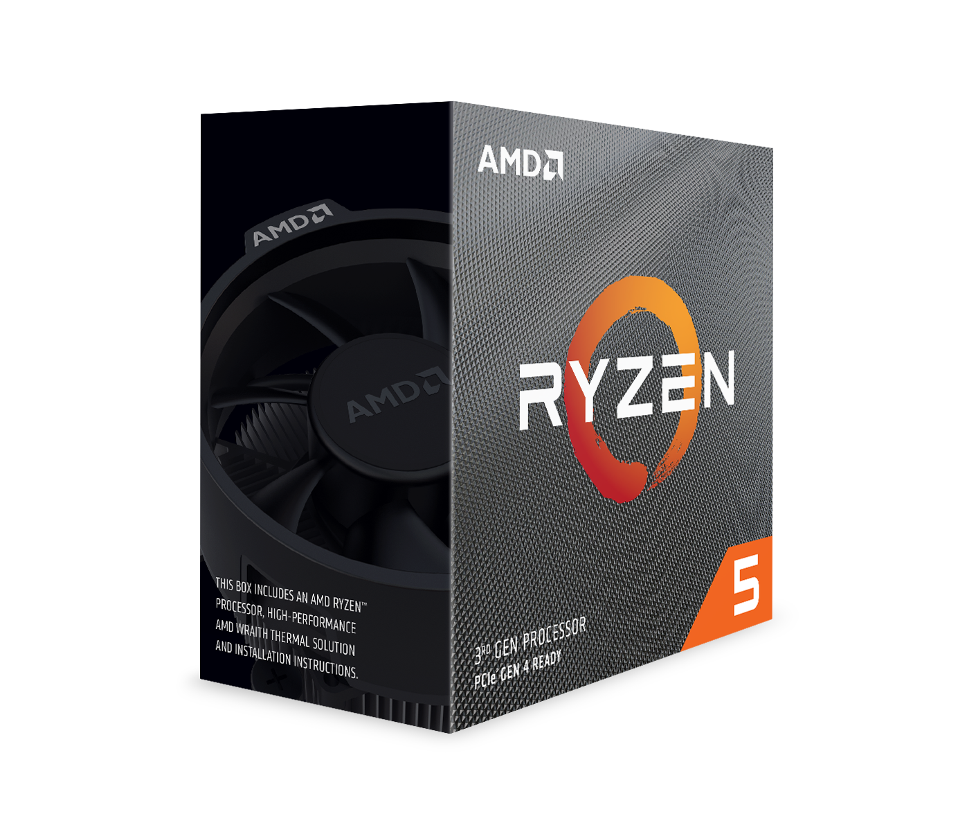 AMD Ryzen 5 3600 6-Core, 12-Thread 4.2 GHz AM4 Processor