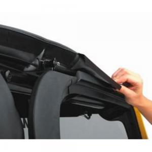 $100 Rebate Available – Bestop Trektop NX (Black Diamond)