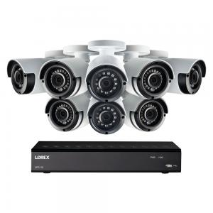Lorex 1080P HD 8 Channel DVR Security System with 8 1080p Cameras