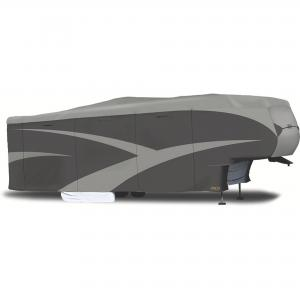 ADCO 5TH Wheel and Toy Haulers Designer Series SFS AquaShed Cover, Grey