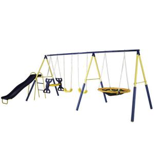 Sportspower Super Star Swing and Slide Set