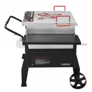 Creole Feast CFB1001, Single Sack Crawfish Boiler, Outdoor Stove Gas Cooker with 10-psi Regulator, For Crawfish Season, Patio Cooking, Backyard Party