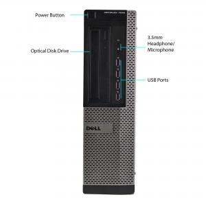 Refurbished Dell 7010-D Desktop PC with Intel Core i7-2600 3.4GHz Processor, 16GB Memory, 2TB HDD-3.5 and Win 10 Pro (64-bit) (Monitor Not Included)