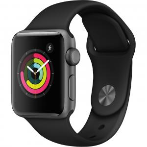Refurbished Apple Watch Series 3 GPS – 38mm – Sport Band – Aluminum Case