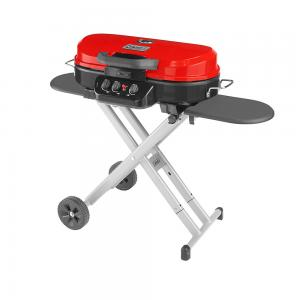 Coleman® RoadTrip 285 Portable Stand-Up Propane Grill, Red