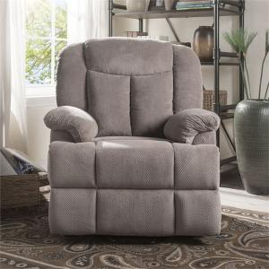 ACME Ixia Recliner with Power Lift and Massage in Light Brown