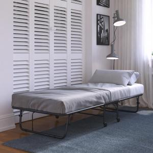 DHP Folding Guest Bed with 5 Inch Mattress, Multiple Options Available