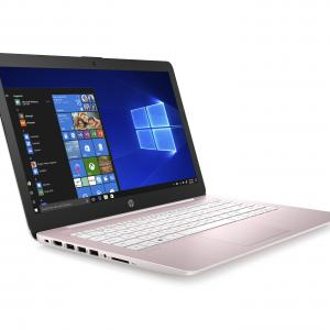 Refurbished Hewlett Packard 14-cb163wm Stream Laptop, Intel Celeron N4000, 4GB SDRAM, 32GB eMMC, Rose Pink 14