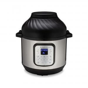 Instant Pot Duo Crisp and Air Fryer, 6 Quart 11-in-1 One-Touch Multi-Use Programmable Pressure Cooker with Air Fryer Lid