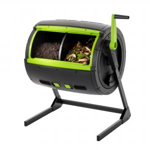 RSI-MAZE 65 Gal. Two Stage Tumbling Composter – Black