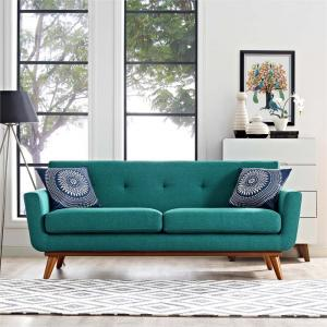 Modway Engage Upholstered Fabric Loveseat, Multiple Colors