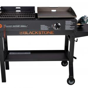 Blackstone Duo 17″ Griddle and Charcoal Grill Combo