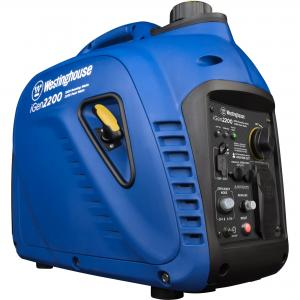 Westinghouse iGen2200 Super Quiet Portable Inverter Generator – 1800 Rated Watts and 2200 Peak Watts – Gas Powered – CARB Compliant