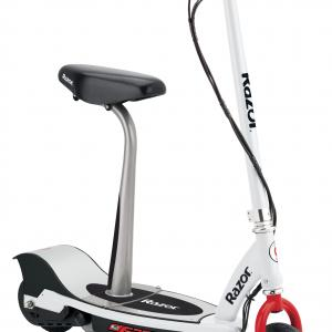 Razor E200s Electric Scooter White/Red- Ages 13+