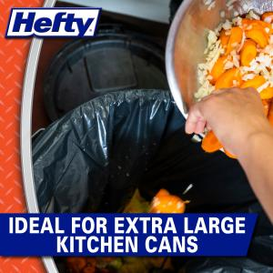 Hefty® Strong Multi-Purpose Extra Large Trash Bags, 33 Gallon, 20 Bags