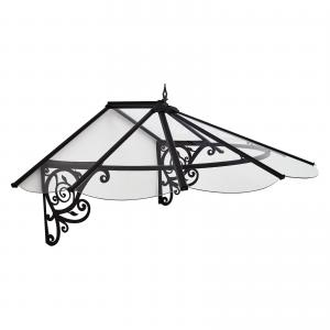 Palram Lily Victorian 6′ x 4′ Door Awning